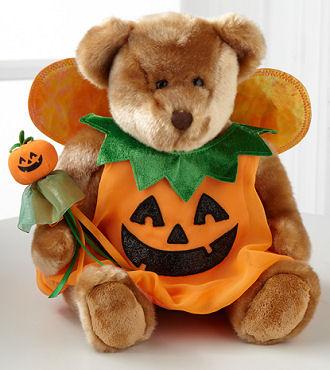 Pumpkin Halloween Bear