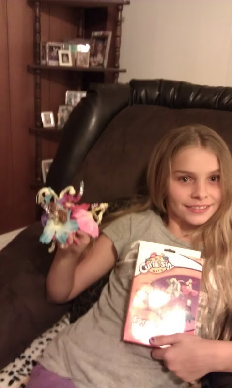 Shelly created these fairy dolls.