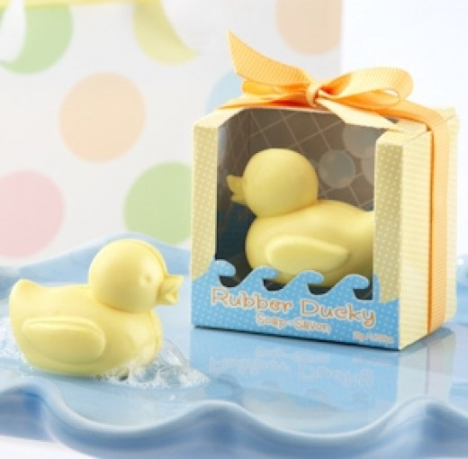 Rubber Ducky Soap Favors