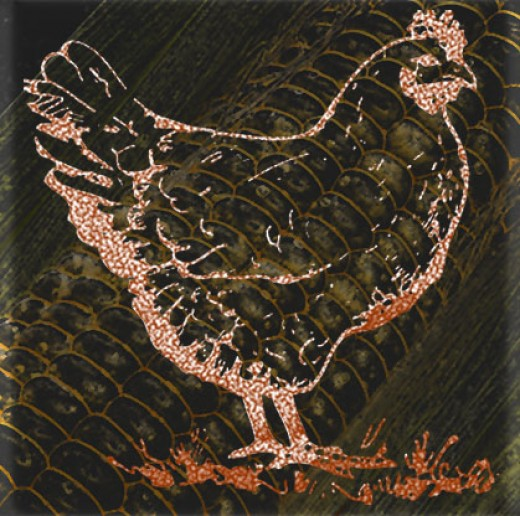 Corn Hen
