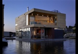 Would you like to buy a floating house