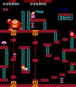 Donkey Kong - enough to send you apesh- can't write that...