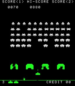 Space Invaders Gameplay