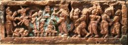 Terracotta of Raj Rajeswari temple