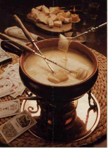 Fondue History in a few short sentences.