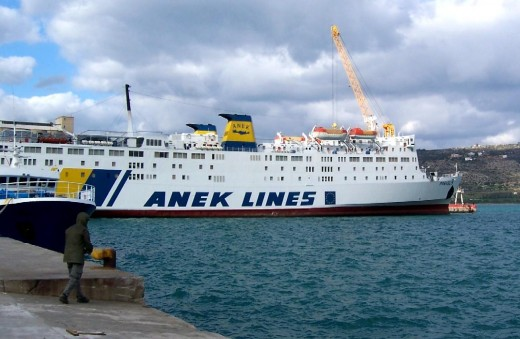 Greek ferry