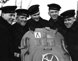 The Sullivan brothers, who all died aboard the USS Juneau (the inspiration behind Saving Private Ryan's storyline).