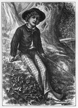 Tom Sawyer 1876 frontispiece