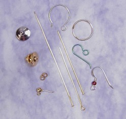 Head Pins and Earring Findings
