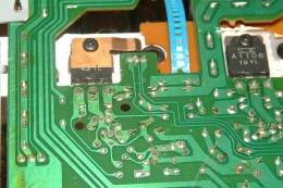 PC Board Paths with soldered joints