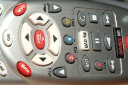 Remote control up close