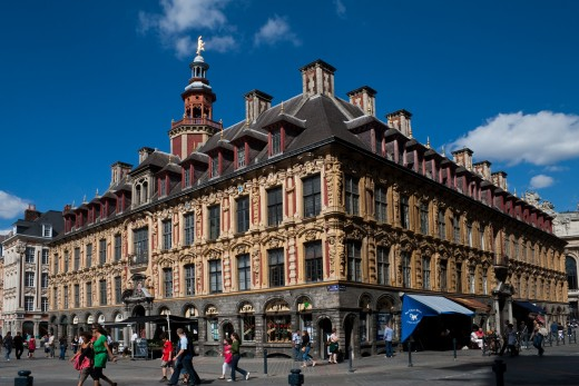 The Old Stock Exchange, Lille, from the south-west.