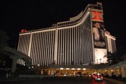 The Las Vegas Hilton hotel.