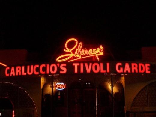 Carluccio's Italian Restaurant.