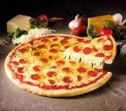 PEPPERONI PIZZA provides that spicy Italian zest for a 'date' who likes a night on the town. Exciting and always easy-to-find. 'She' hangs out at most national pizza restaurants.
