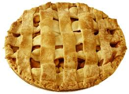 APPLE PIE is the sweetest 'love' of my life for I have enjoyed her company for over 40 plus, sweet years.