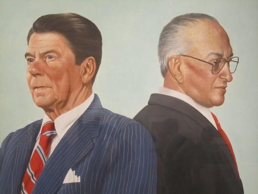 Reagan and Andropov