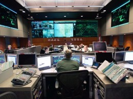 NORAD control center
