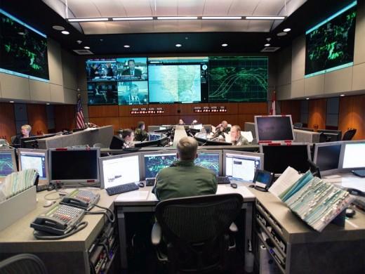 NORAD control center