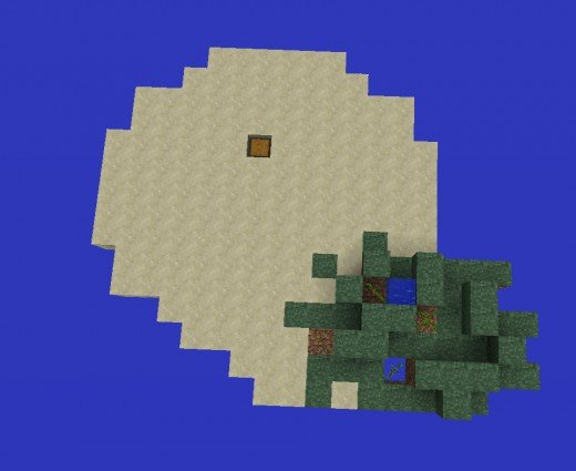 How To Make A Minecraft Survival Island Survival Map - 15 November ...