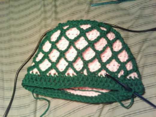 A Fishnet Hat for my friend.