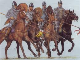 The Normans in battle dress