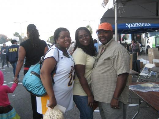 Danielle, Felicia, and Albert, (not Fat Albert)