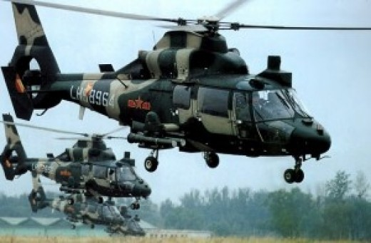 Kenyan Attack Helicopters