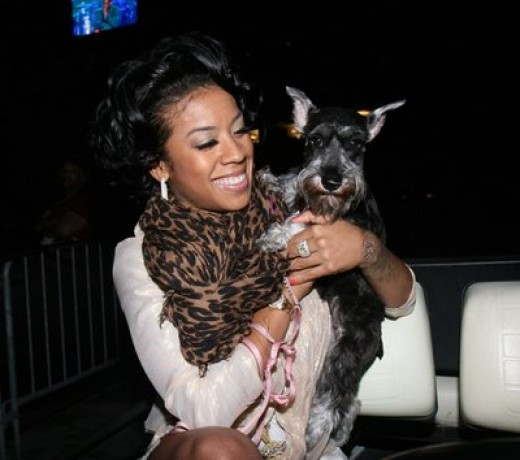 Keyshia with Lola