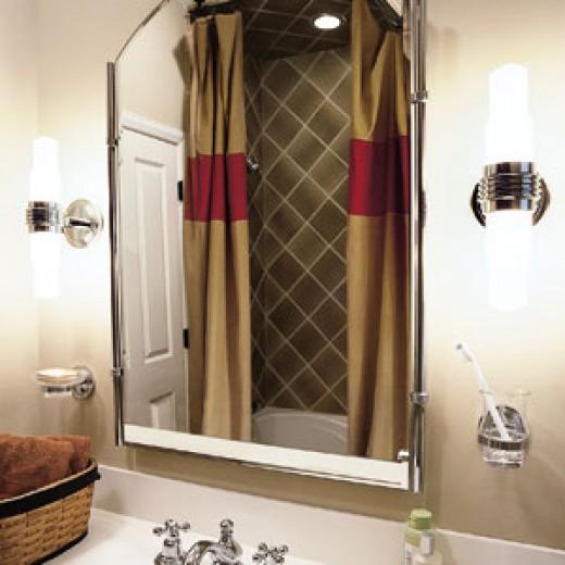 Small Bathroom Makeovers - Bathroom Lighting