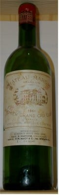 1961 Chateau Margaux - a personal favorite of mine