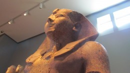 Statute of a female Pharaoh, who served in the place of her 8 year old son until he was of age.