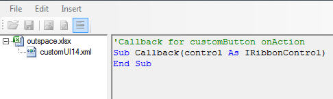 The boilersplate callback method