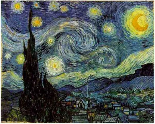 Starry Nights - Vincent Van Gogh