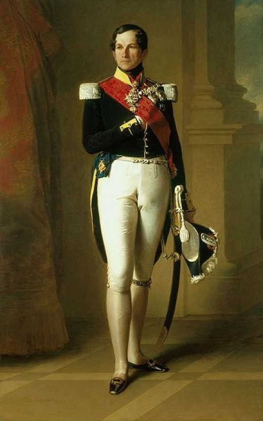 Portrait of Leopold I of Belgium (1790-1865)