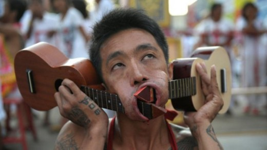 Guitars In Cheeks