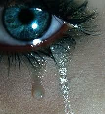 When tear drops fall