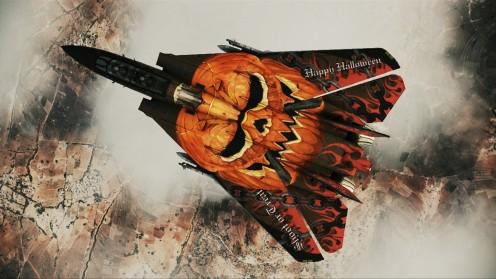 """F-14D Super Tomcat """"Halloween Pumpkin"""" DLC skin"""