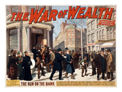 The War of Wealth, a Bank Run Depicted in the Broadway Melodrama Was Inspired by the Panic of 1893.