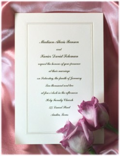 Ashton Wedding Invitations