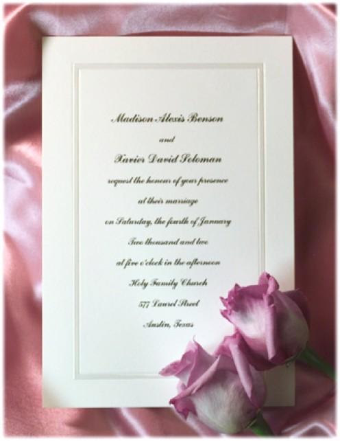 Ashton Wedding Invitations