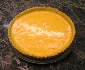 My Homemade Orange Tart Using The Below Recipe.