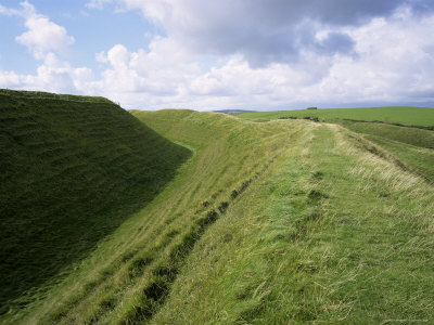 Maiden Castle by Roy Rainford