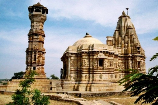 Jain Temple on Chittorgarh Fort, Rajasthan