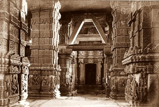 Jain Temple inside Gwalior Fort