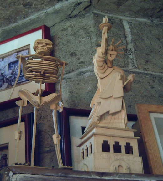 The Stature of Liberty and the Human Skeleton