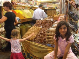 The amazing spice stalls in the souks of marrakech. They smell divine and the colours bombard the senses