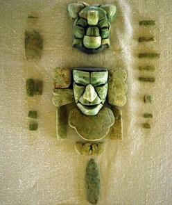 Mayan ceremonial mask found at Tak'alik Ab'aj