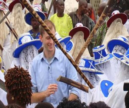 Eyo Masquerade Wide-brimmed Hats