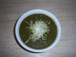 How To Make A Simple Spinach Soup  - A Quick And Easy Recipe....